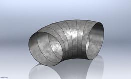 Elbow Sheetmetal Bending
