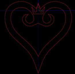 Kingdom Hearts zippo