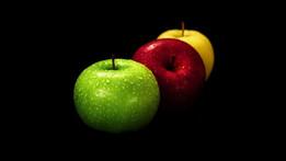 apple  . pomme