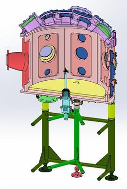 Octagonal vacuum chamber