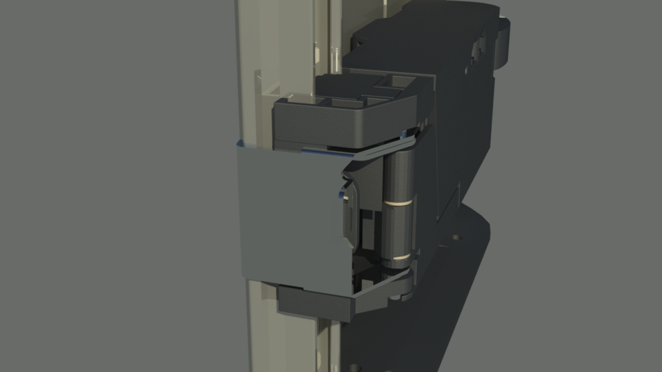 BLUM - SERVO-DRIVE, the electric motion support system