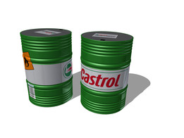 Oil Castrol Barrel