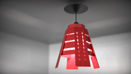 "Lamp inspired by music ""Another Way - Gigi D'Agostino"""