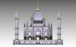 Taj-Mahal - Lego - 10189