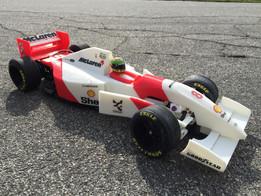 RS-01 Ayrton Senna's 1993 McLaren MP4/8 Formula 1 RC-Car