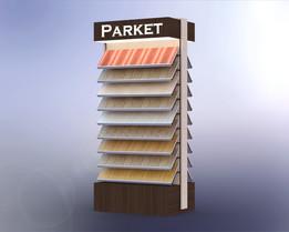 PARQUET DISPLAY stand