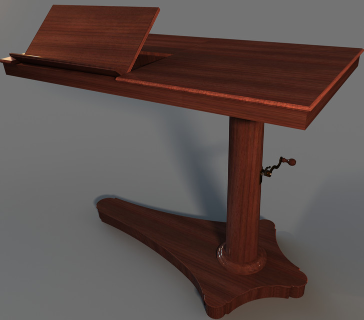 Table de lit reversible - SOLIDWORKS - 3D CAD model - GrabCAD