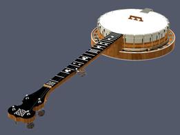 5 String Banjo Mastertone Style