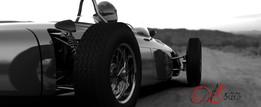 Ferrari 156 F1 Dino 1961 with engine