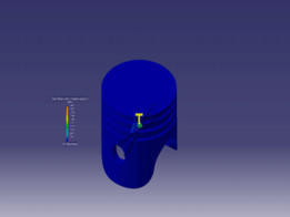 Tutorial: How to analyze a thermal load in Catia V5 FEM Analysis