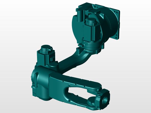 yaskawa motoman mh12 | 3D CAD Model Library | GrabCAD