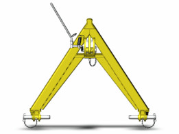 A-frame quick coupler SA-1.