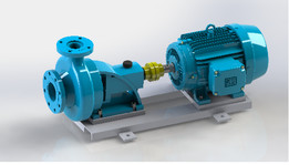 KSB pump and Weg motor