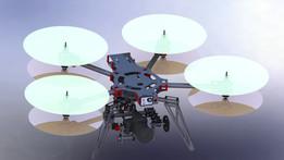 Spyder sQuad X8 multirotor