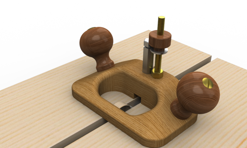 Router Plane 3d Cad Model Library Grabcad