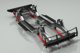 Chassis with Leaf spring
