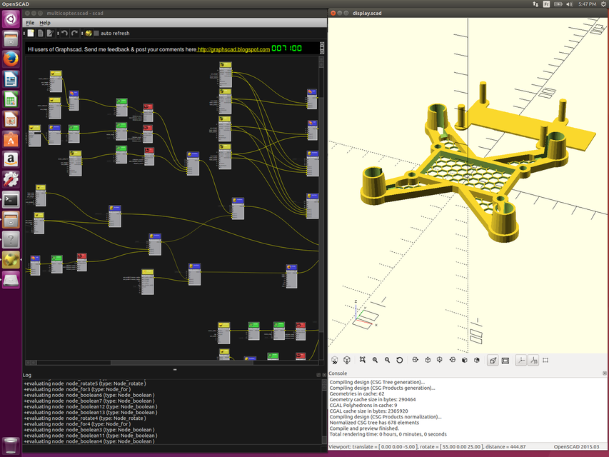 customizable micro quad | 3D CAD Model Library | GrabCAD