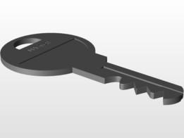 Master Lock Key