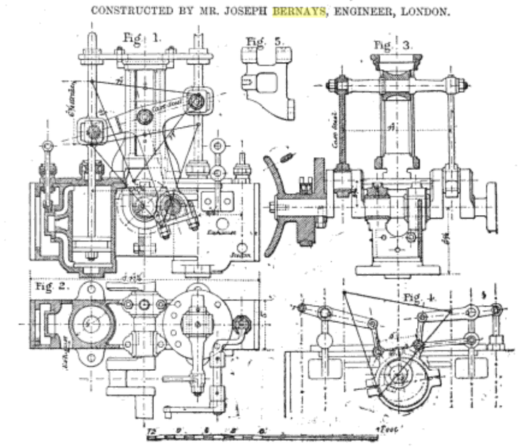 diagram of radial engine