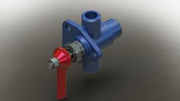 Distributing valve