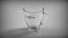 Glass for coffee