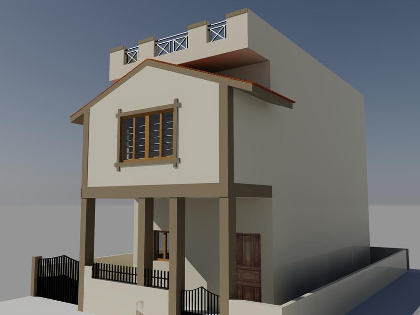 Exterior And Interior Design   3D CAD Model Library   GrabCAD