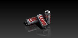 Coke Can + 3D + Rendering