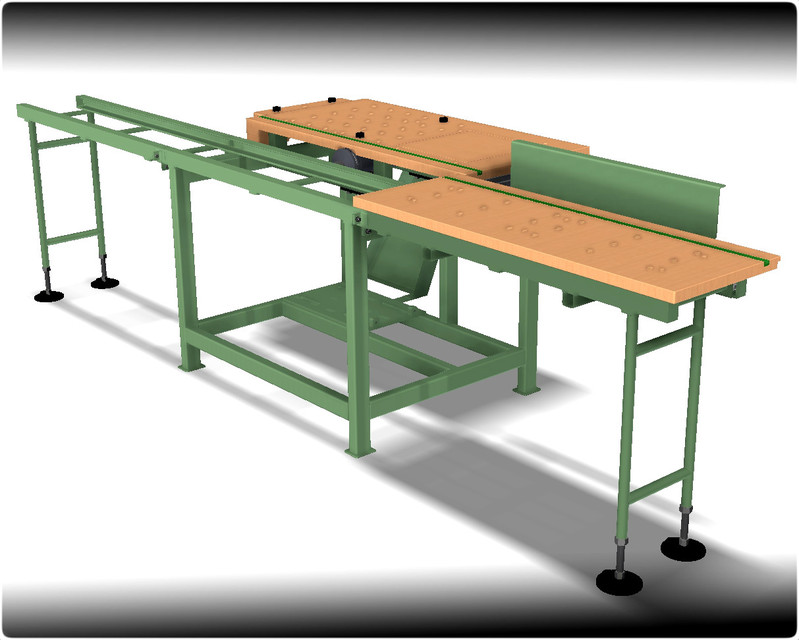 Circular saw and workbench in one | 3D CAD Model Library