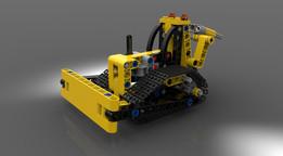 LEGO Technic #9391 Bulldozer (2012)