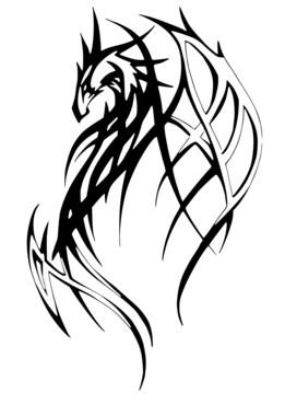 Tribal_dragon_1