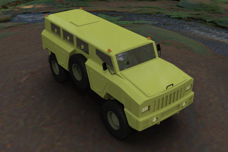 MPV Matador | 3D CAD Model Library | GrabCAD