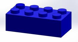 Lego Brick (2x4)