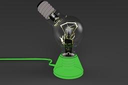 Bulb-double bulb toon