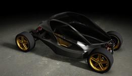 Carbon Fiber Monocoque Chassis