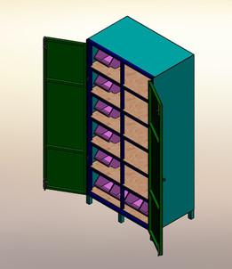 Tooling Cabinet Fullset