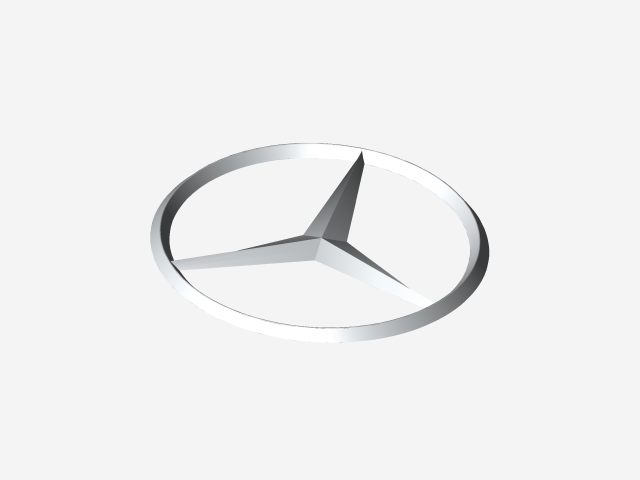 mercedes benz logo white png. load in 3d viewer uploaded by anonymous mercedes benz logo white png o