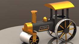 Lego Steamroller 434