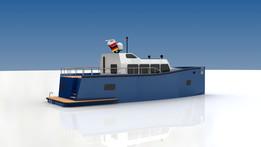 13m Displacement Motoryacht