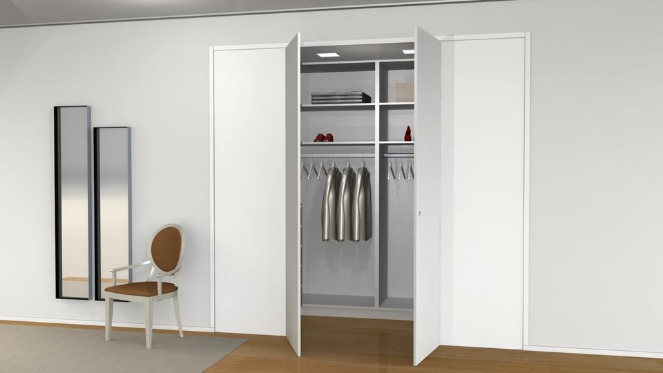 Dressing Room - Sala de vestir | 3D CAD Model Library | GrabCAD