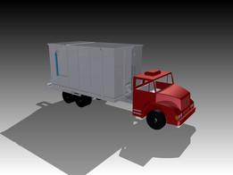 Bagasse Dump Truck No. 2 (Body Upgrade)