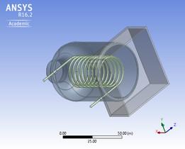 Analysis of boiler using CFD(Fluid Flow Fluent)