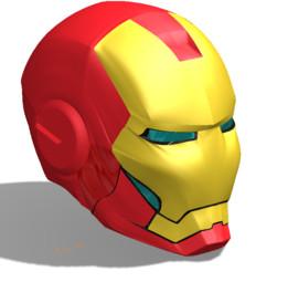 Iron man helmet - Recent models | 3D CAD Model Collection