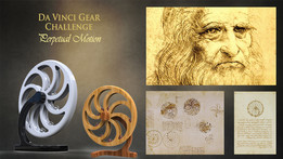 Da Vinci Gear_PERPETUAL MOTION MACHINE