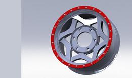 "Overlap Wheel Rim 20"""