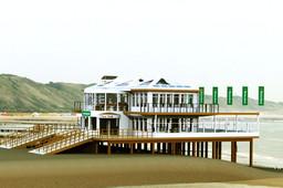 "Beach Pavilion ""t Peal Oot"""