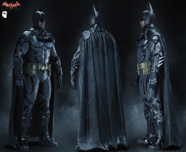 batmobile arkham knight model game and batsuit v8 | 3D CAD