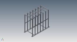 Gaiola para Encher Pneus - Cage to Fill Tires Up