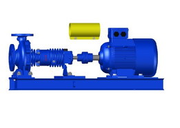 CENTRIFUGAL PUMP AND MOTOR ASSEMBLY