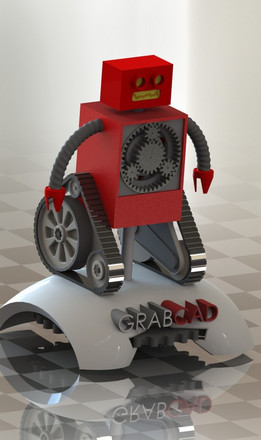 Grabby the Robot with Planetary Gears
