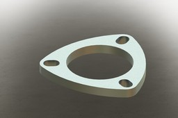3 bolt exhaust flange